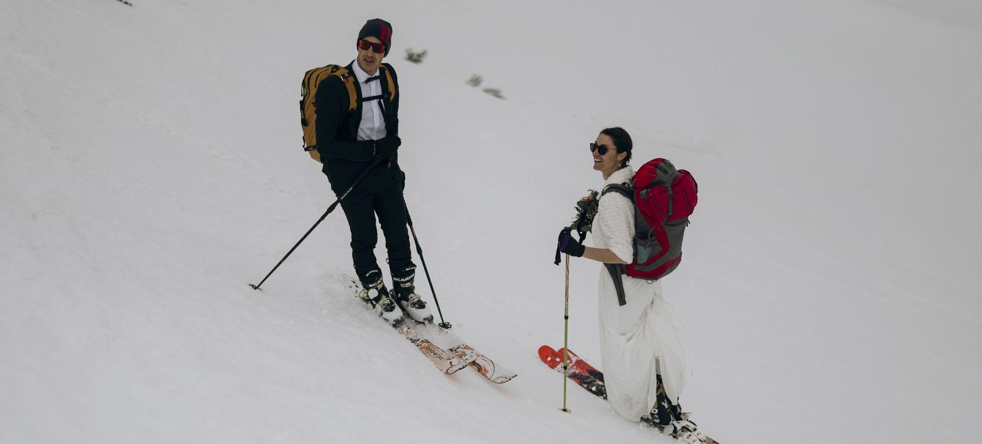 austria winter skiing elopement package
