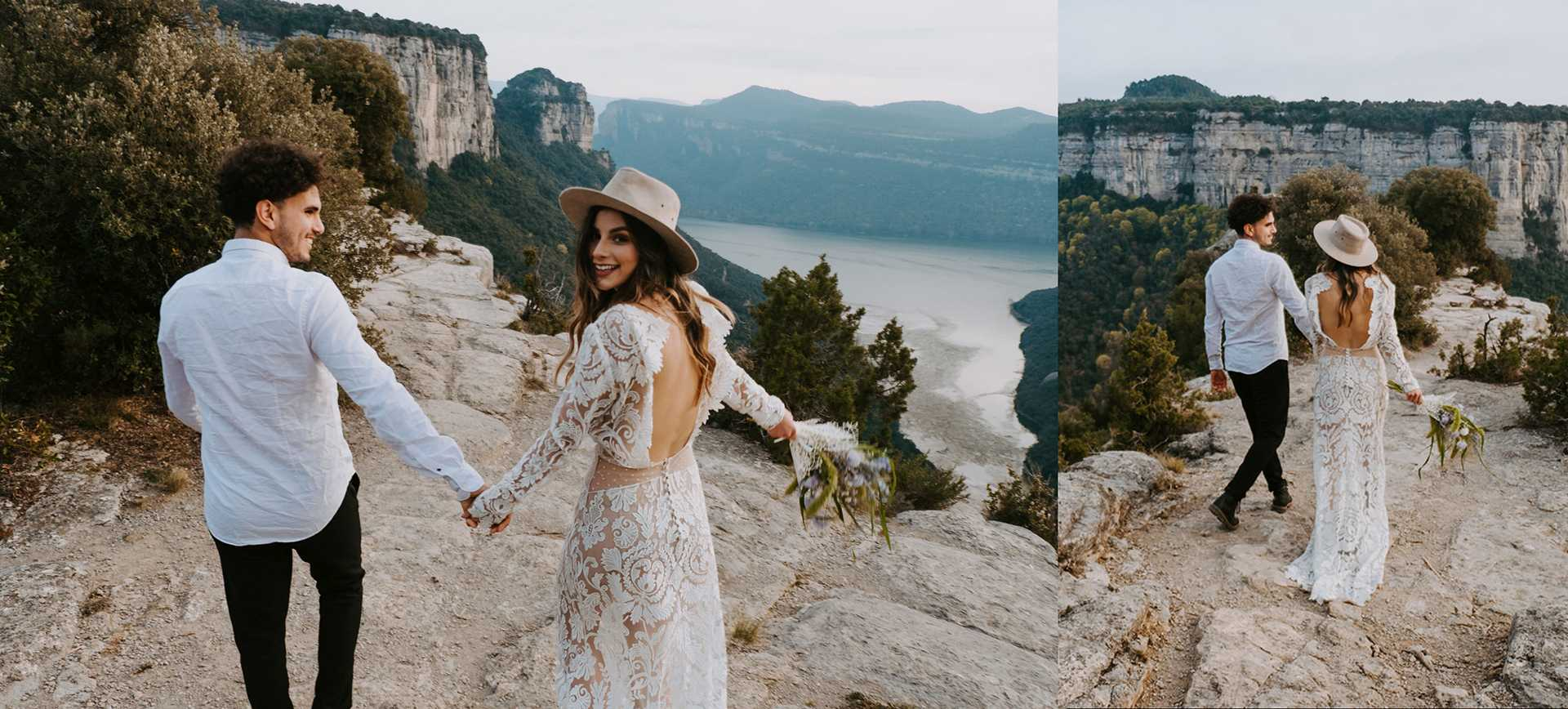 barcelona after-wedding package for Morro D'Labella