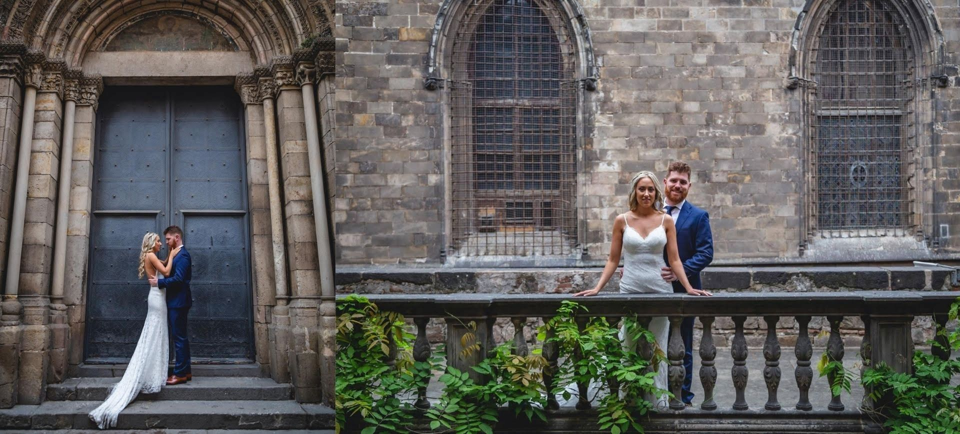 barcelona intimate wedding package - labyirnth park & gothic quarter
